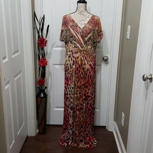 Touch of L.A long tall maxi plus size dress 2X
